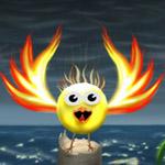 Angry Bird On Sea